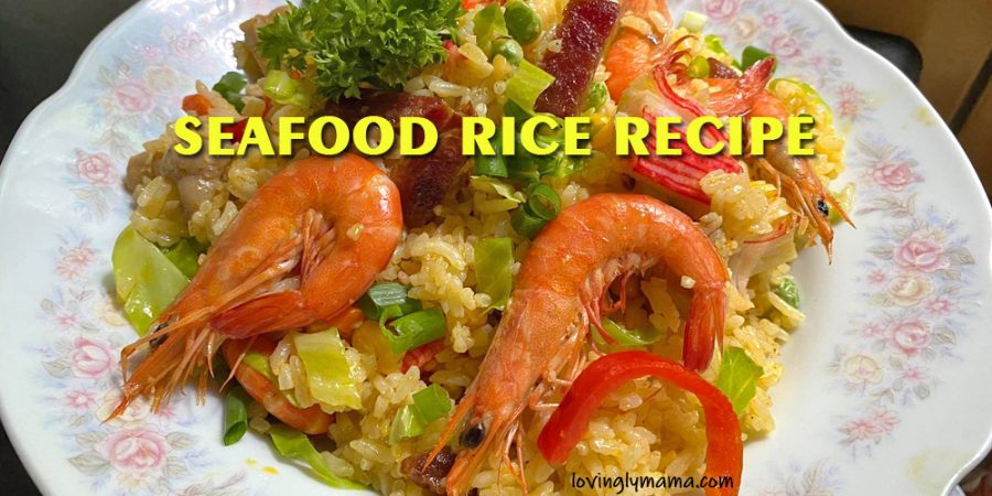 seafood rice recipe - pinoy fried rice - Bacolod mommy blogger - from my kitchen - homecooking - complete meal