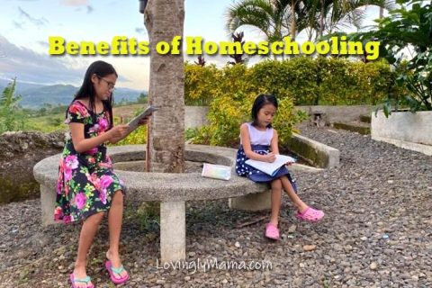 benefits of homeschooling - homeschooling in bacolod - health - covid-19 quarantine - family travel