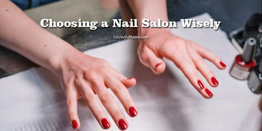 choosing a nail salon - ECQ -Covid-19 quarantine - beauty - nails - manicure - pedicure - Bacolod City - Bacolod nail salon - red nail polish