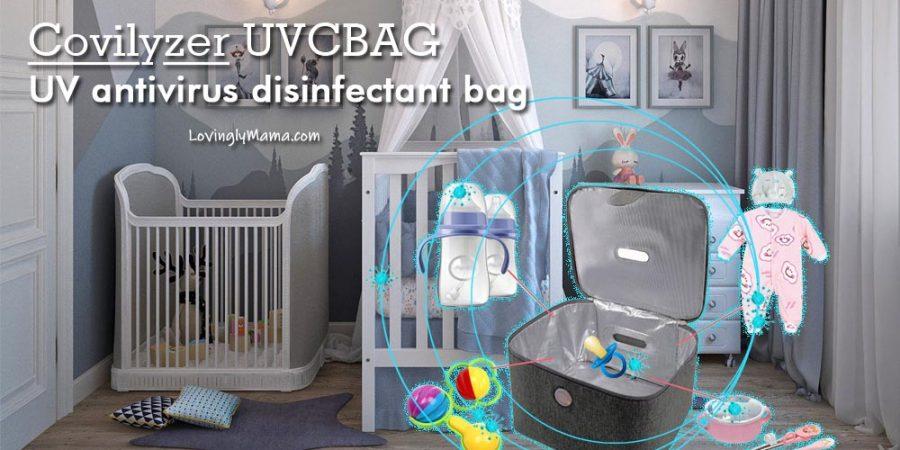 covilyzer UVC sanitizer bag - covilyzer UVC sterilizer bag -ultraviolet antivirus disinfectant bag - Covid-19 - UB bag sterilizer - Bacolod mommy blogger - disinfect toys