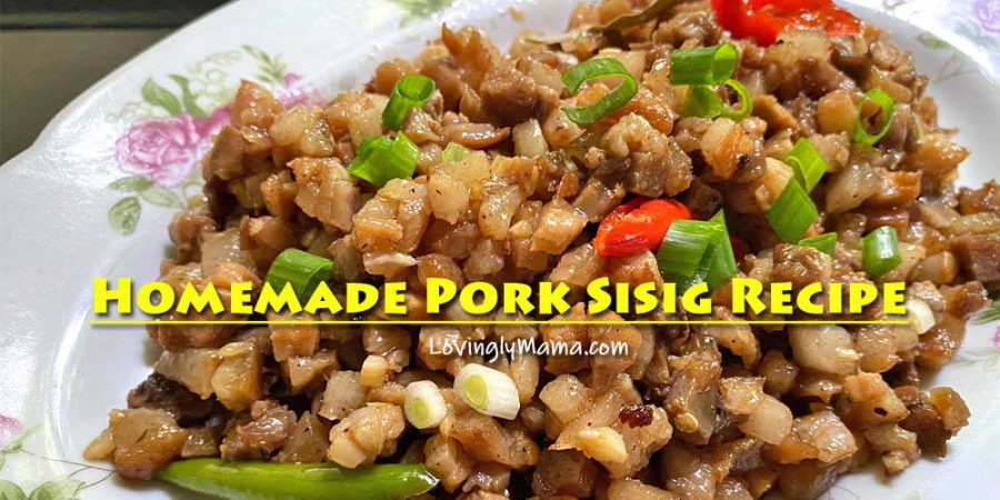 homemade pork sisig recipe - easy to cook - kitchen hacks - Bacolod mommy blogger - homecooking - from my kitchen - spicy pork sisig