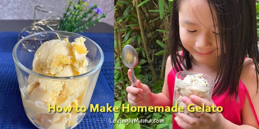 how to make homemade gelato - homemade gelato recipe - 2-ingredient ice cream - Bacolod mommy blogger - from my kitchen - homecooking - summer recipe - homemade ice cream recipe
