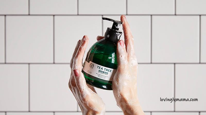 pamper your hands - dry skin - rough hands - The Body Shop - vegan hand wash - proper hand washing - Covid-19