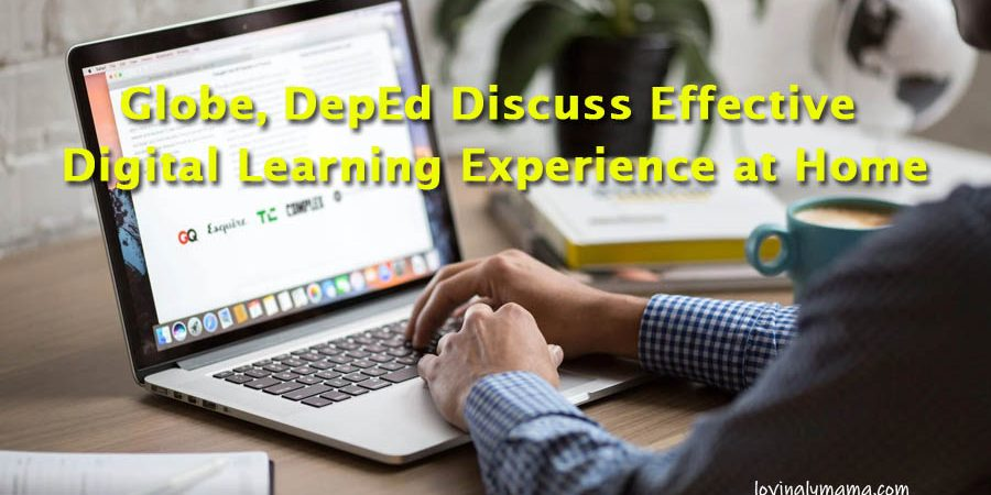 Globe, DepEd Discuss Effective Digital Learning Experience at Home - learn from home - distance learning - homeschooling - Covid-19