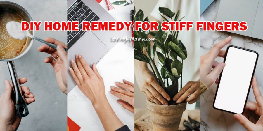 home remedy for stiff fingers - hand soak - epsom salt - pain relief - Bacolod mommy blogger - arthritis - fatigue of the hands