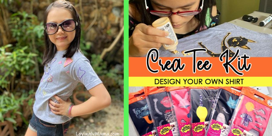Createe Kit - design your own shirt - emotional intelligence - crafts for kids - t-shirt design - Covid-19- cover