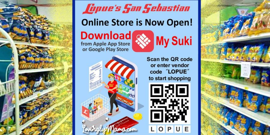 Lopues San Sebastian Online Ordering App - grocery shopping - grocery delivery services in Bacolod - mommy blogger - home - Covid-19 safety - grocery aisle