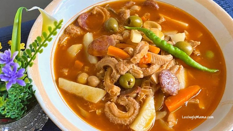 Pinoy Callos Recipe - how to cook callos - Spanish cuisine - Bacolod mommy blogger - homecooking - from my kitchen - spicy callos