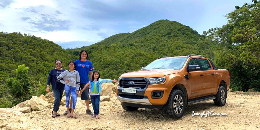 rainy family road trip - Ford Ranger Wildtrak - Bacolod mommy blogger - Bacolod City - Negros Occidental - Calatrava mountains